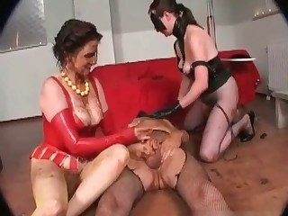 Dirty as hell scat group sex